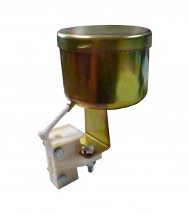Counterweight rope guide shoe Arnitel (Wulkollan) with lubricator