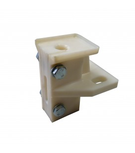 Counterweight rope guide shoe Arnitel (Wulkollan) without lubricator