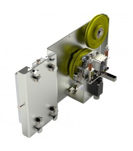 Integrated system of Overspeed Governor + Driving Set + Safety Gears