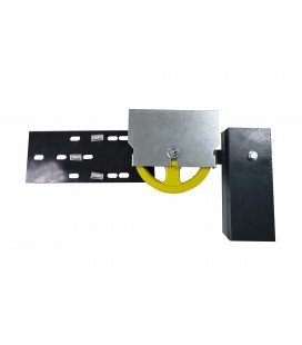 Tension pulley with counterweights Ø200 Small dimensions