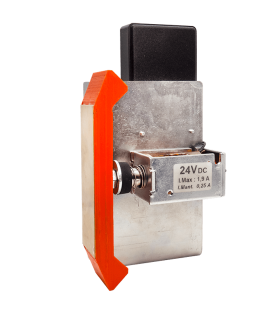 Contact bridge for electric safety locks