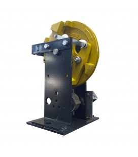 Overspeed governors with remote reset of safety switch 400