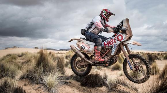 Gervall in the Dakar 2018